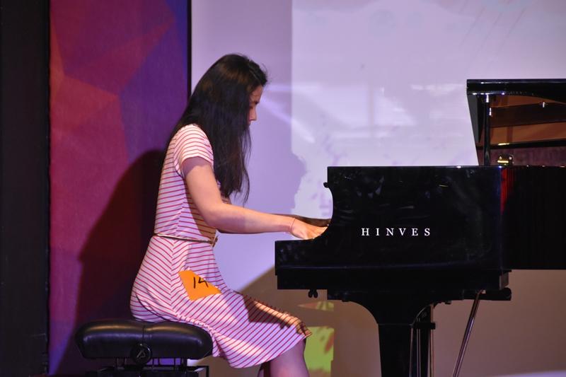 器乐组冠军:Exi Ortega Zhang